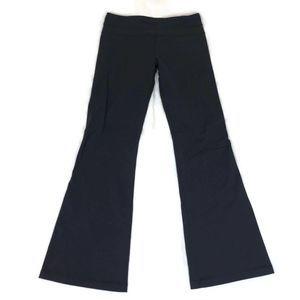 Lululemon Women's Black Flared Yoga Athletic Pants